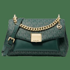 Michael Kors Lita Medium Two-Tone Logo Crossbody Bag for $99