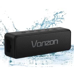 Vanzon X5 Pro Bluetooth Portable Wireless Speaker for $60