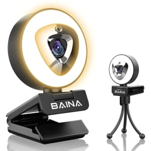 Baina 1080p Webcam with Microphone for $15