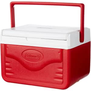 Coleman 5-Quart FlipLid Personal Cooler for $10