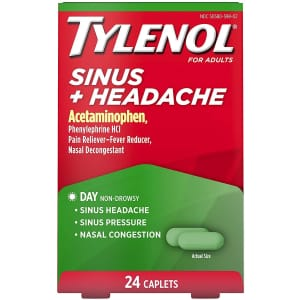 Tylenol Cold or Sinus Product: free w/ rebate