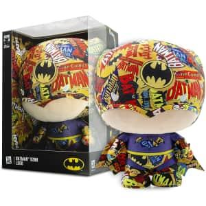 """YuMe 10"""" DZNR Batman 80th Anniversary Collector Plush for $5"""