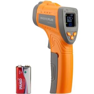 Inkbird Infrared No-Contact Laser Temperature Gun for $17