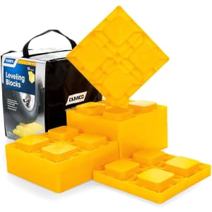 Camco Heavy-Duty Leveling Blocks 10-Pack for $28