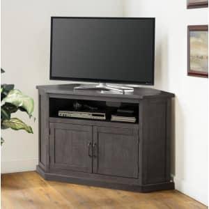 "Martin Svensson Home Rustic 50"" Solid Wood Corner TV Stand for $340"