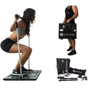 BodyBoss Home Gym 2.0 Portable Gym Kit for $97