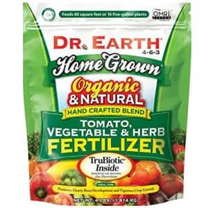 Dr. Earth Organic Tomato, Vegetable & Herb Fertilizer for $10