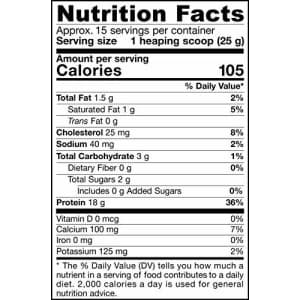 Jarrow Formulas Whey Protein Grass Fed, Sports Nutrition, Vanilla, 370 g, 13.8 Ounce (VAN1G) for $25