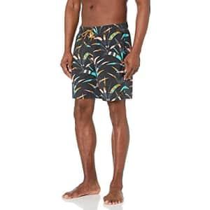 Billabong Men's Standard Elastic Waist Stretch Sundays Layback Boardshort Swim Short Trunk, 17 Inch for $20