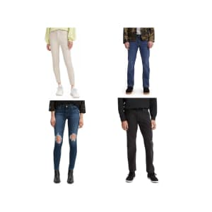 Levi's Men's or Women's Jeans at Macy's: for $20