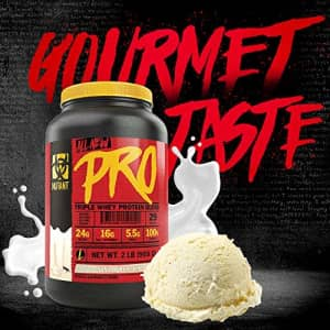 Mutant Pro Triple Whey Protein Powder Supplement Time-Released for Enhanced Amino Acid Absorption for $29