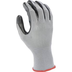 Ironton Men's Nitrile-Coated Work Gloves for 40 cents