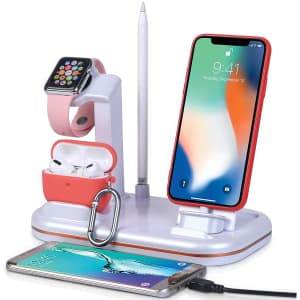 Lxtopdk 4-in-1 Charging Station for $12