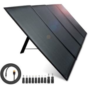 Aiper 100W Foldable Solar Panel for $300