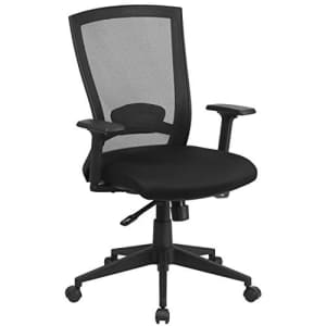 Flash Furniture Mid-Back Black Mesh Executive Swivel Ergonomic Office Chair with Back Angle for $182