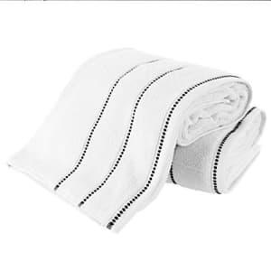 Lavish Home Luxury Cotton Towel Set- 2 Piece Bath Sheet Set Made From 100% Zero Twist Cotton- Quick Dry, Soft for $45