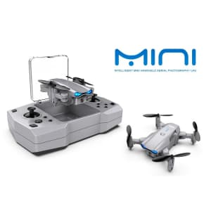 Nuetrality Mini RC Helicopter Drone with Camera for $29