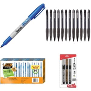 Clearance Writing Supplies at Staples: Save on over 70 items