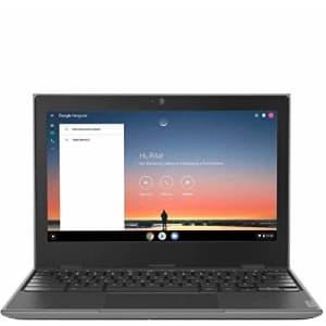 "2020 Lenovo 100e 2nd Gen 11.6"" Anti-Glare HD Business, Student Chromebook Laptop, Quad-Core MT8173C for $380"