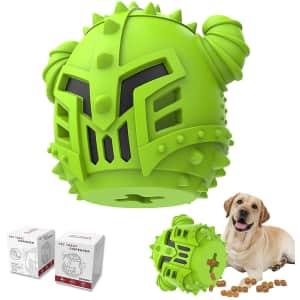 Piffzedo Slow-Feeding Dog Chew Toy for $8