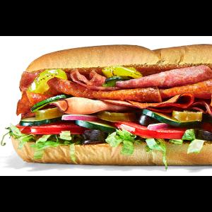 "Subway 6"" Sub: for $3"