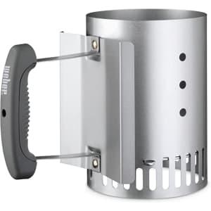 Weber Compact Rapidfire Chimney Starter for $15