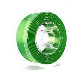 SainSmart PRO-3 Tangle-Free Premium 1.75mm Silk-PLA 3D Printer Filament, Green Silk-PLA, 2.2 LBS for $25