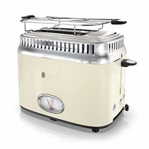 Remington Russell Hobbs TR9150CRR Retro Style 2-Slice Toaster, Cream for $94