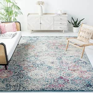 Safavieh Madison Collection MAD611N Boho Chic Floral Medallion Trellis Distressed Non-Shedding for $24