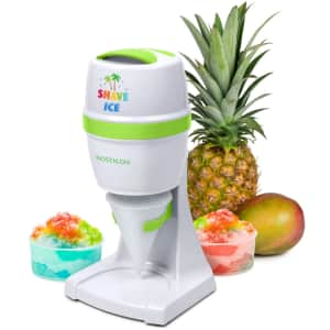 Nostalgia Electric Shave Ice & Snow Cone Maker for $30