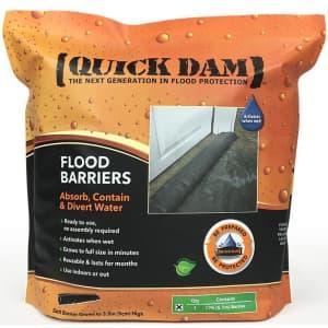 Quick Dam 17-Ft. Expanding Flood Barrier for $33