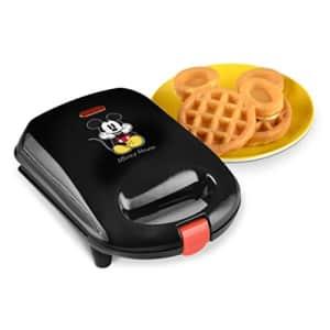 Disney DCM-9 Mickey Mini Waffle Maker, Black for $34