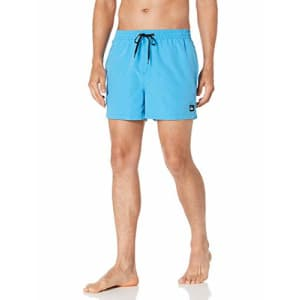 Quiksilver Men's Everyday Volley 15 inch Elastic Waist Boardshort Swim Trunk, Blithe, M for $32