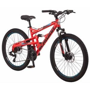 Schwinn Protocol 1.0 Mens and Womesn Mountain Bike, 26-Inch Wheels, 24-Speed Drivetrain, for $650
