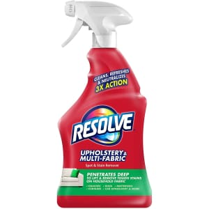 Resolve Multi-Fabric Cleaner and Upholstery Stain Remover 22-oz. Bottle for $3.91 via Sub & Save