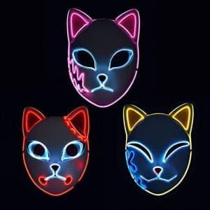 Moobibear LED Anime Mask 3-Pack for $27