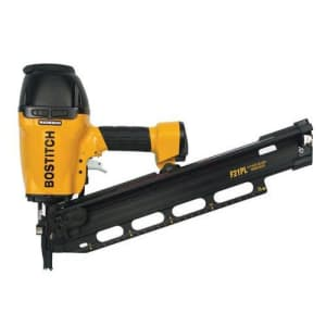 Bostitch F21PL2 - 21 Plastic Collated Framing Nailer for $265