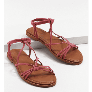 Maurices Women's Lacey Strappy Sandals for $8
