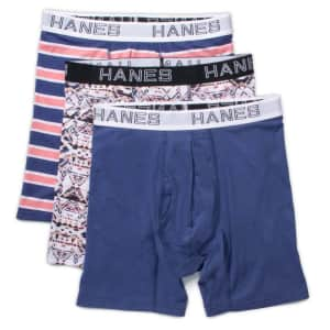 Hanes Men's Underwear: Up to 50% off