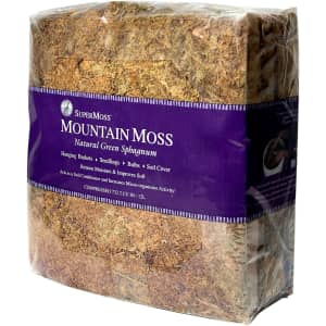 SuperMoss 3.5-lb. Dried Mountain Moss for $25