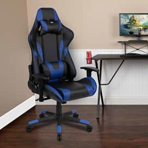 Flash Furniture BlackArc X20 Gaming Chair Racing Office Ergonomic Computer PC Adjustable Swivel for $166