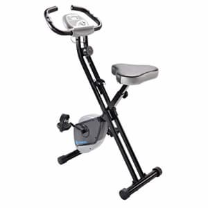 Stamina Folding Exercise Bike 182   Three Expert-Guided, Online Workout Videos Included   Smooth, for $159