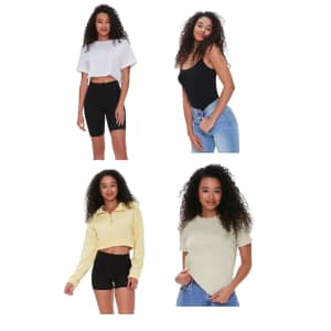 Organic Cotton Basics at Forever 21: Buy 3, get 1 free + Extra 10% to 30% off