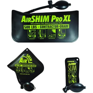 Calculated Industries AirShim Inflatable Pry Bar & Leveling Tool 3-Piece Set for $33