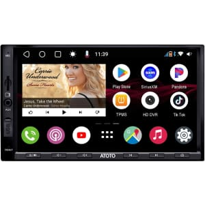 Atoto S8 In-Dash Android Navigation System for $429