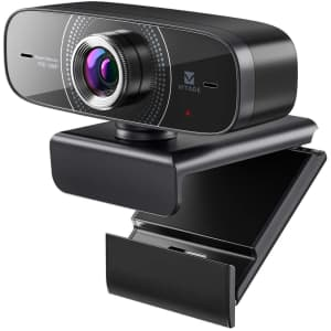 Vitade 1080p Webcam with Microphone for $24