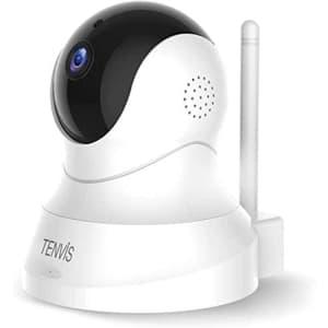 Tenvis 1080p Wireless Pet Camera w/ 2-Way Audio for $43
