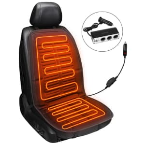 Joytutus Electric Heated Car Cushion for $19