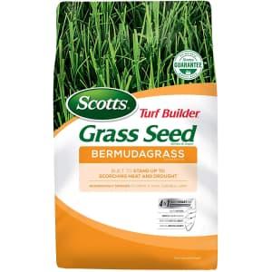 Scotts Turf Builder Grass Seed Bermudagrass 5-lb. Bag for $24