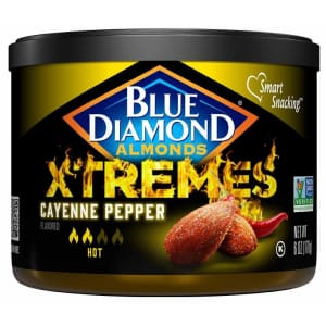 Blue Diamond Xtremes Cayenne Pepper 6-oz. Almonds for $2.11 via Sub & Save